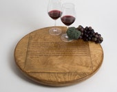 Large Hundred Acre Wine Crate Lazy Susan