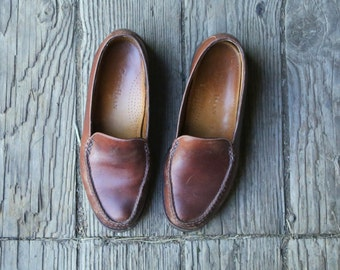 Bohemian Loafers Cole Haan US Women Size 6 Rich Colored Leather Casual Vintage From Nowvintage on Etsy