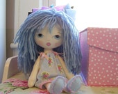 Sweet Little Lady Doll....All in Blue...Collector doll...Precious