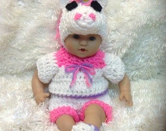 12 inch doll clothes. 15 Inch Doll Clothes.Soft  bodied Dolls.  Unicorn Set