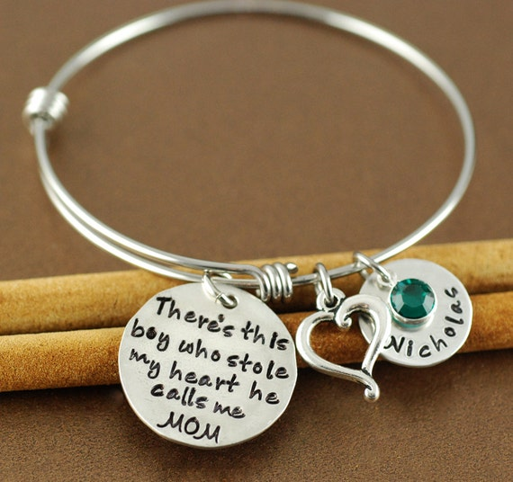 Boy who stole my heart bracelet