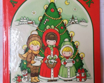 Joan Walsh Anglund book, Christmas storybook, collectible book, child's gift book, 1983 book, Christmas gift, illustrated book, baby gift