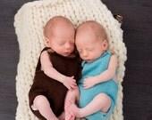 Newborn Romper, Baby Boy Romper, Newborn romper prop, Knit Photography Prop, Newborn Romper prop, Newborn Photo prop