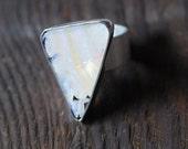 Purity Ring- Australian Boulder Opal