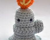 Bernie, The Bunsen Burner Crochet Pattern