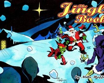 THE JINGLE BOOK Santa Claus Christmas Comic by Mike Hoffman Digital Download