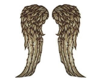 42cm / 16inch Daryl dixon the walking dead full size wings feather angel biker wing patch applique