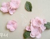 Spring Romance Sakura Elastic Headband/Necklace for Women-pink (Made-To-Order)