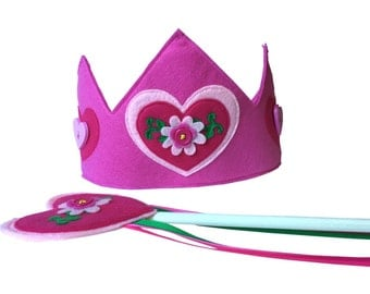 Princess Posy Crown and Wand Set