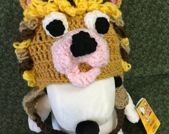 Adorable Little Lion hat, perfect for your little one