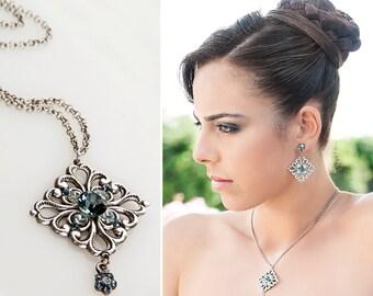 10 year wedding anniversary, Anniversary jewelry set, 10 year anniversary, 10 year anniversary gift, 10 year anniversary for her