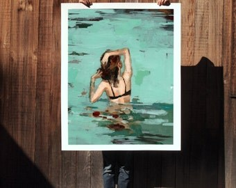Favorite Place . extra large artwork giclee art print
