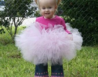 PRINCESS PINK TUTU custom made for you baby pink tutu