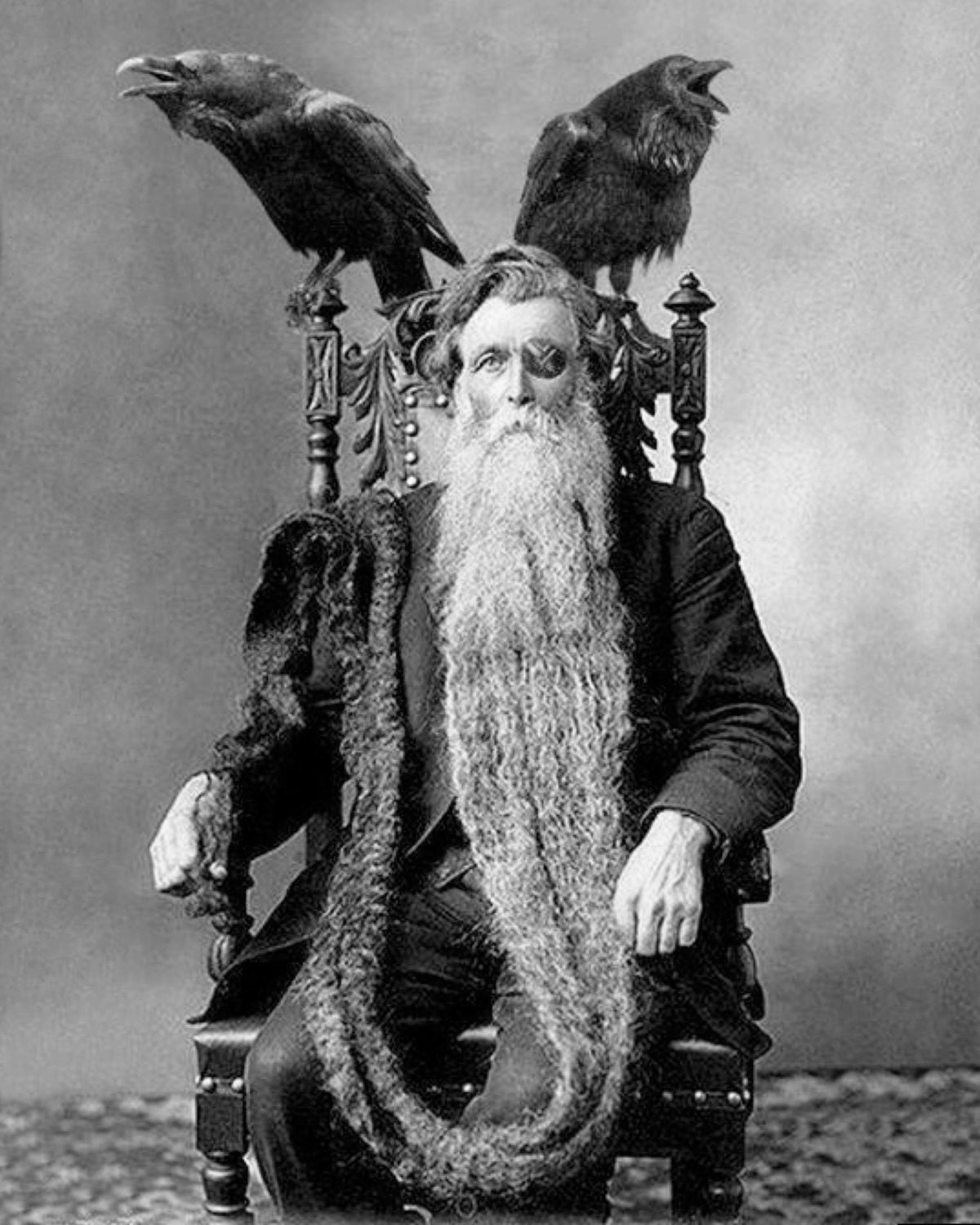 Odin barbu homme long plus longue barbe insolite photographie - Barbe longue homme ...