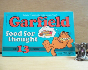 Garfield * Food for Thought * 1987 Vintage Comic