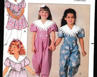 Butterick 5472 Children's Dress and Jumpsuit