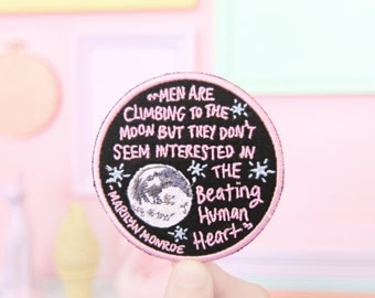 Marilyn Monroe quote patch