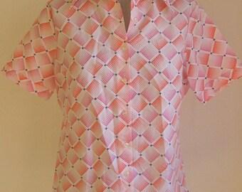 70s vintage op art Shirt