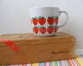 Vintage Rare VHTF Arabia Finland, Pomona Strawberry Cup Mug, Arabia Finland Mug, Arabia Strawberry