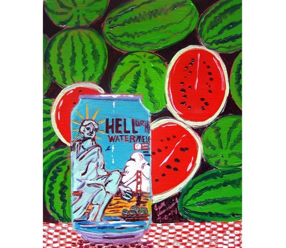 kitchen watermelon california hell or high