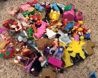 DESTASH - 75-Piece Misc. Toy Lot