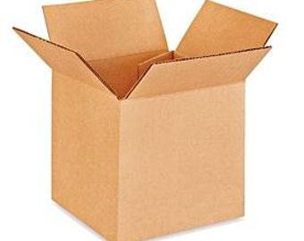 25 - Cube Shipping box