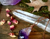 Amethyst Amulet- Psychic boost, Protection, Change
