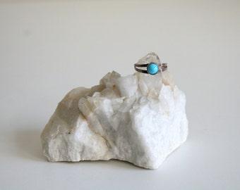 Minimalist Turquoise Ring 8