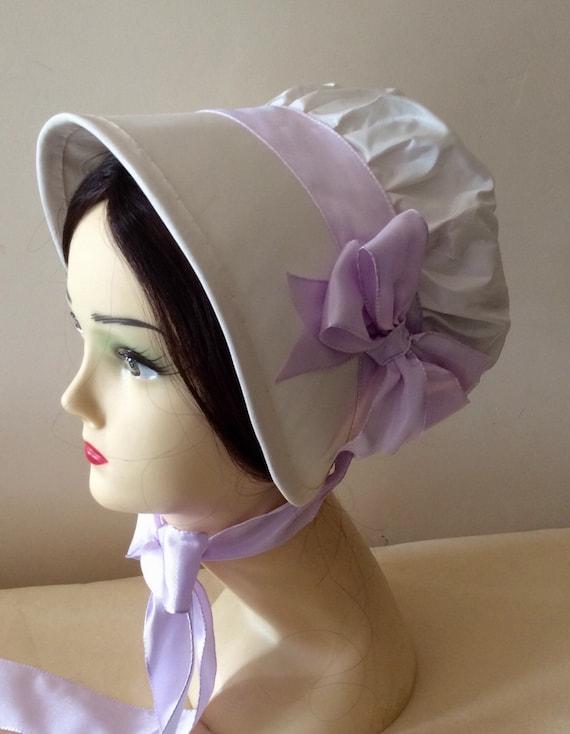 CUSTOM Regency Bonnet. Jane Austen. 'JULIA' Your choice of colour/fabric/trims.