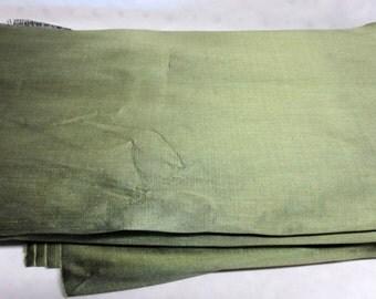 Emerald Green Silk Fabric