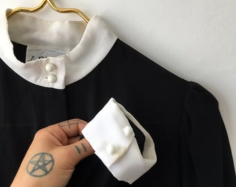 Vintage Wednesday Adams Nun Dress - 9/10