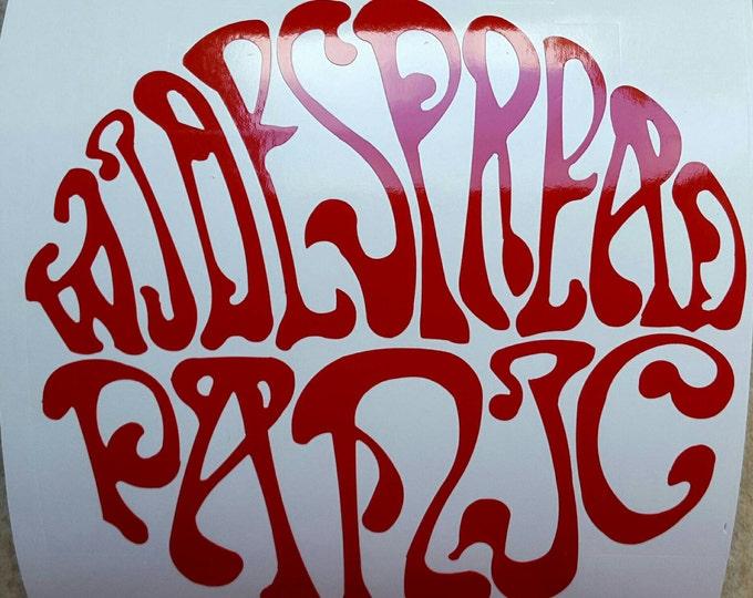 Widespread Panic Vinyl Sticker Graphic Decal