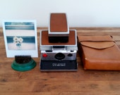 Polaroid sx70, vintage Polaroid, vintage intant film camera