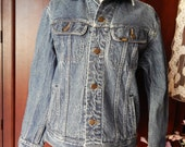 Vintage LEE~Jean Jacket~Denim~Thick Jean~XS MENS Size 36~Superb Condition