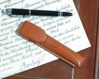 Personalized Executive Leather Pen Case with Monogram Leather Apple Pencil Case, Harlex, Gift for Him, Groomsmen Gift, Thanksgiving Gift