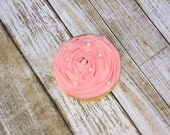 Rosette Rose Pearl Cookie Favor, Wedding, Bridal Shower, Birthday - 12 Dozen