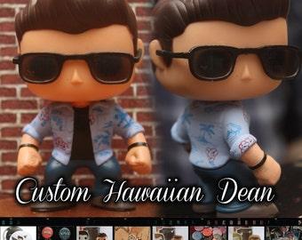 Hawaiian shirt Dean Winchester - Custom Funko pop toy