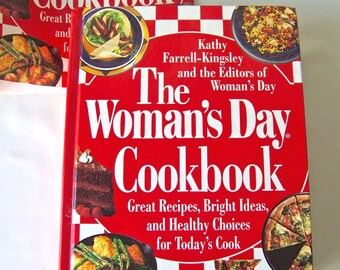 Vintage Woman's Day Cookbook 1995 Great Recipes Bright Ideas Healthy Choices Reference Cookbook Over 700 Recipes