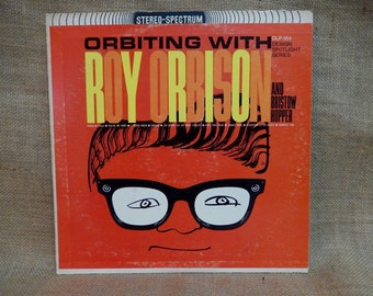 ROY ORBISON - Orbiting with Roy Orbison - Vintage Vinyl Record Album