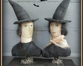 primitive witch, prim witch, primitive salem witch, witches, spookey witch, witch, primitive halloween, halloween