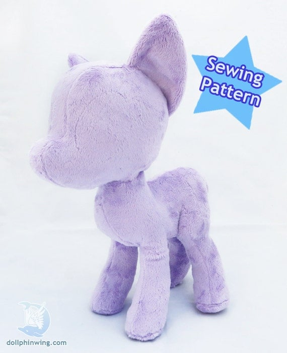 Instant Download Pony Plush Mare Pattern