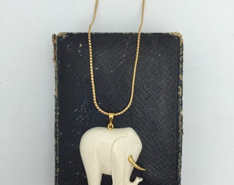 Elephant Necklace Retro Necklace