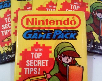 Nintendo Game Pack Trading Cards-  LINK