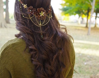 Forest Fairytale Headpiece    |    EntwifeHeadpiece  |    CUSTOM