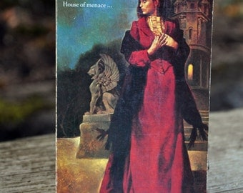 Dragonmede by Rona Randall, book, Horror, Gothic, Macabre, Collins 1975