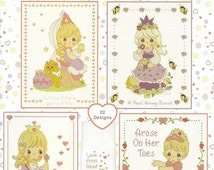 Pretty As A Princess Cross Stitch Chart by Designs by Gloria and Pat (PM63), Baby Cross Stitch