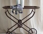 Antique Metal Cart