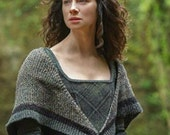 Outlander Claire's Rent Shawl PDF Pattern Claire's **Knitting Pattern**  Inspired Sassenach PDF File Is not a finished product.