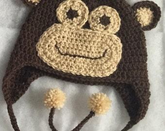 Monkey Hat Adult Size