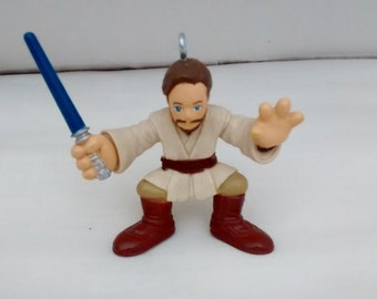 Star Wars Galactic Heroes Action Figure Ornament - Obi Wan